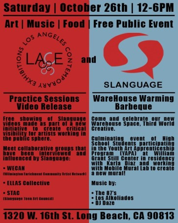YAPA Slanguage Studio Field Trip 2013