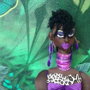 """Jungle Beauty: Goddess Namib"" by Cassandra George-Sturges"