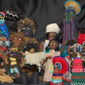 35th Annual Black Doll Show – Trench Art Retrospective: The War Against HIV/AIDS Women of the African Diaspora in the Trenches Curated by Dr.Davis