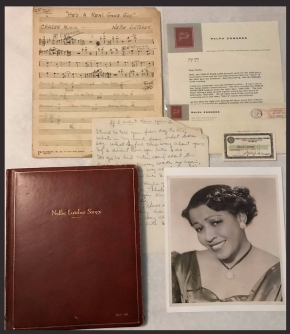 "9th Annual African American Composer Series ""Nearly Gone Gal: The Rescued Archives of Nellie Lutcher"