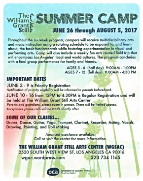 Art & Jazz Summer Camp 2017