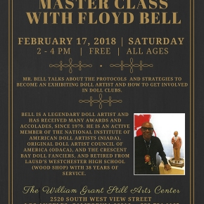 FREE Master Class with Floyd Bell Saturday, February 17, 2018 From 2PM –4PM