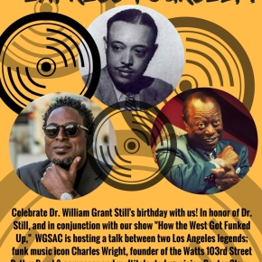 EXPRESS YOURSELF: A conversation with Los Angeles legends Charles Wright and Dexter Story and also come celebrate Dr. William Grant Still's 123rd birthday withus!