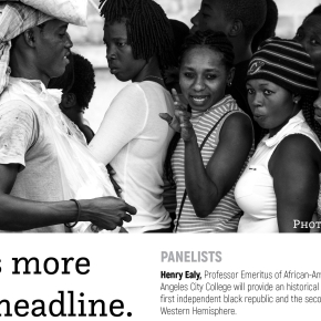 Haiti Is More Than A Headline panel discussion October 18,2018