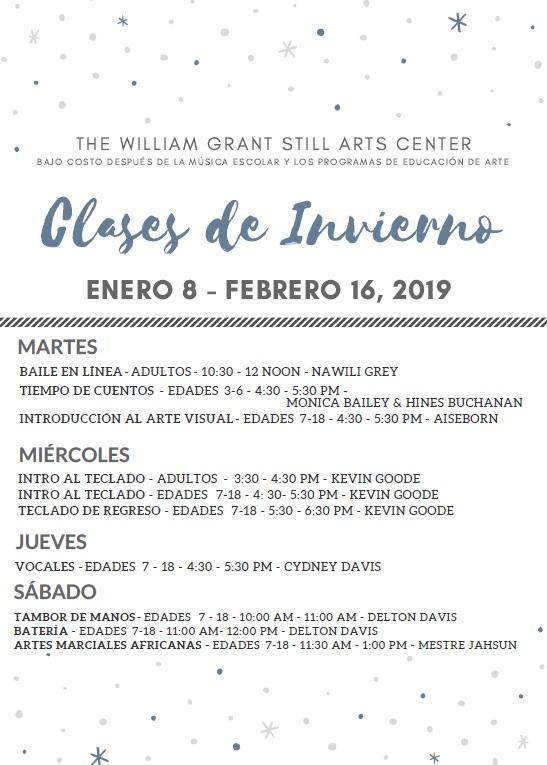 winter 2019 front spanish