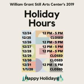 WGSAC 2019 HolidayHours